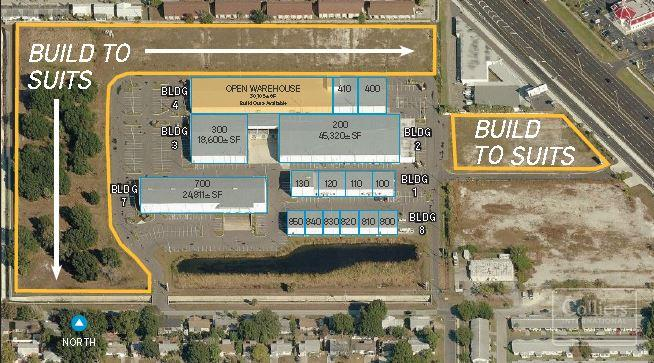 Pinellas Commerce Center For Lease Build To Suit Opportunities - Map alt us 19 pinellas county