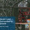 Vacant Land Surrounded by Growth
