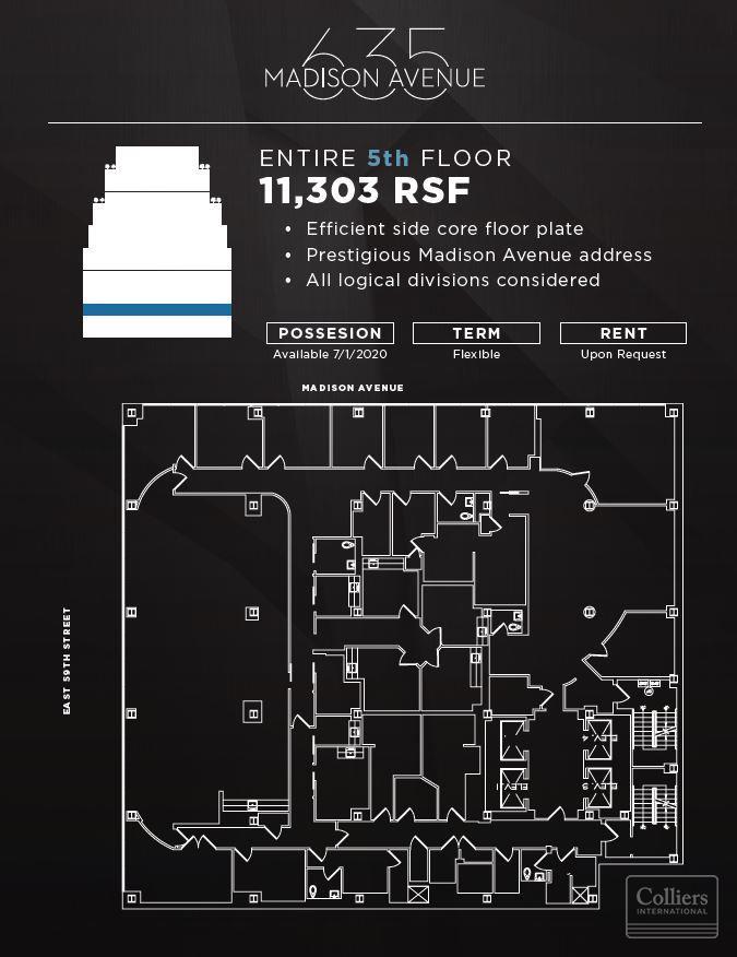 Colliers International | Properties | 635 Madison Avenue Office