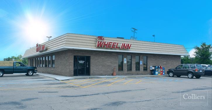 For Sale < 1.51 Acres < The Wheel Inn < Ideal Redevelopment < Minutes from Lansing