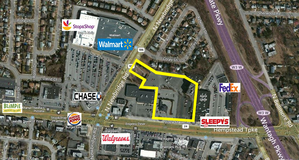 Land For lease — 2545 HEMPSTEAD TURNPIKE EAST MEADOW,NY 11554