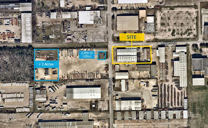 For Lease | 10-Ton Crane Served Warehouse