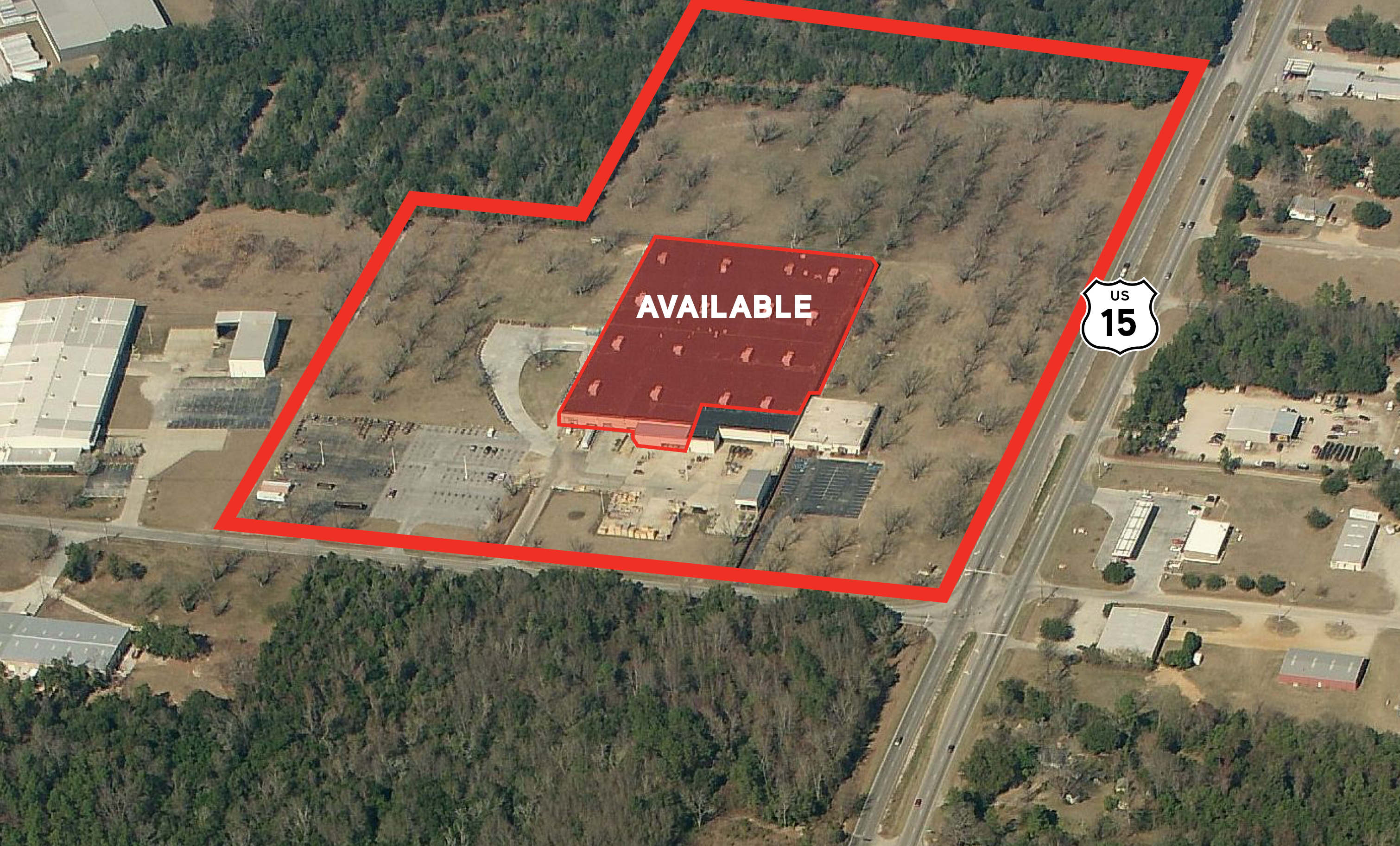 Industrial For Sale and Lease — 2630 Highway 15 South, Sumter, SC