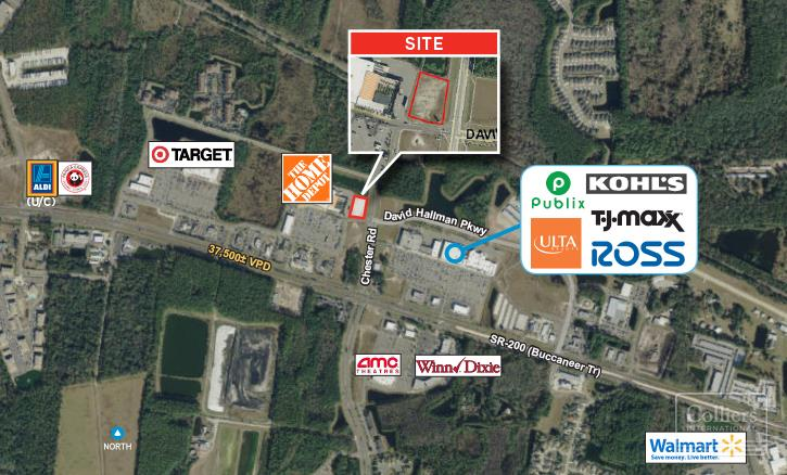 Land For sale — NWC Chester Rd & David Hallman Pkwy Yulee ...