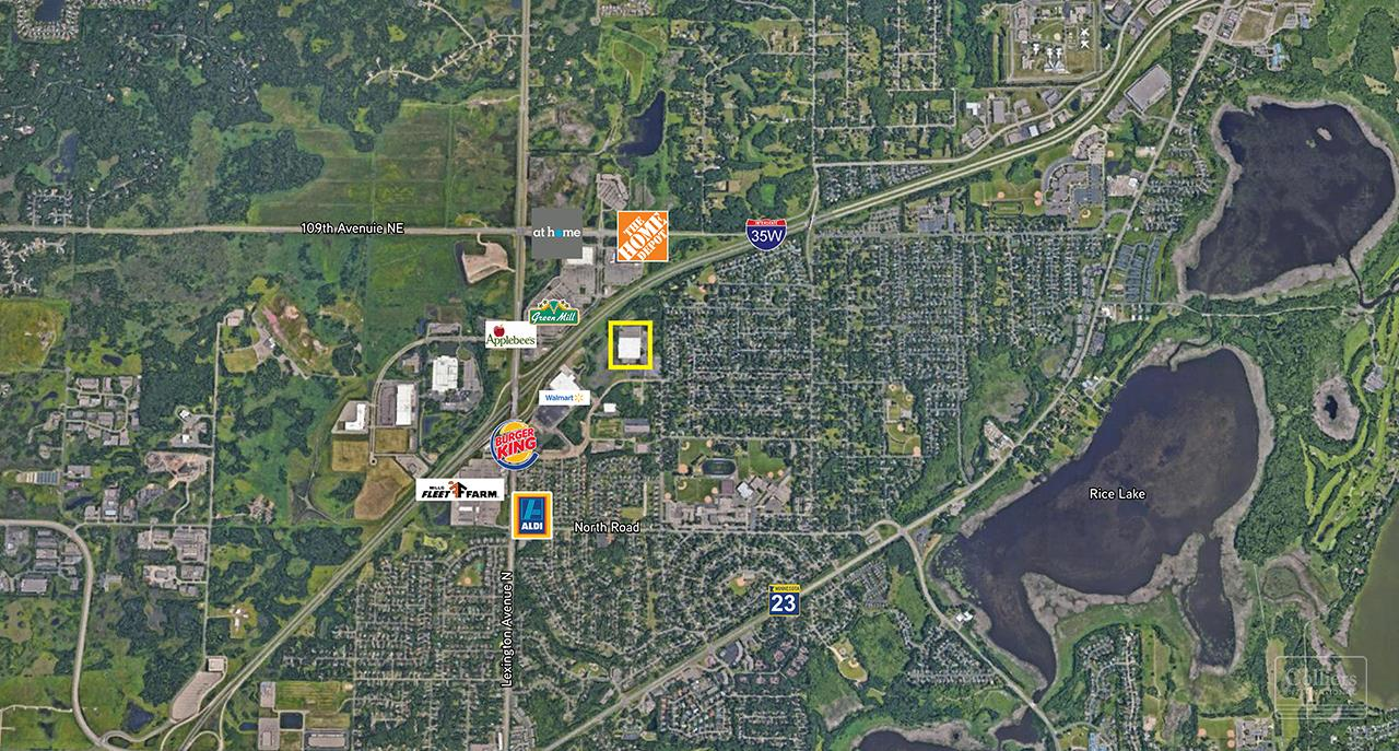 Office For lease — 4501 Ball Road NE | Circle Pines, MN ...