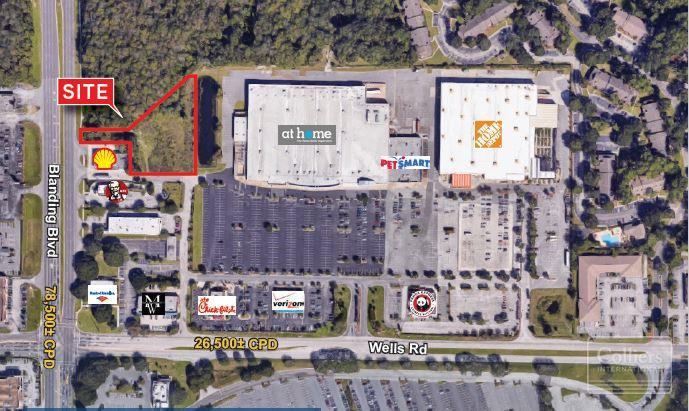 Orange Park Mall >> Land For Sale 0 Blanding Blvd Orange Park Fl 32076 United