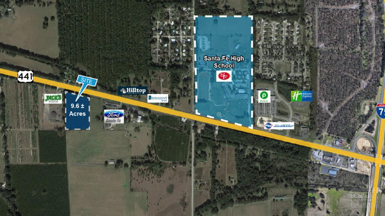 Land For sale — US Highway 441 S Alachua , FL 32616   United ...