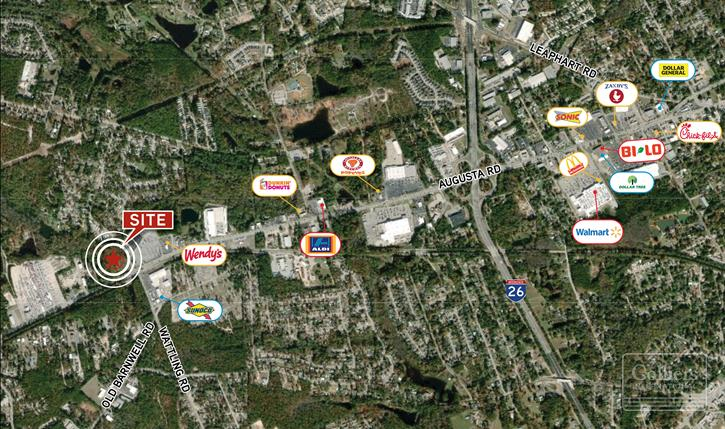 Convenience Store Site in West Columbia, SC
