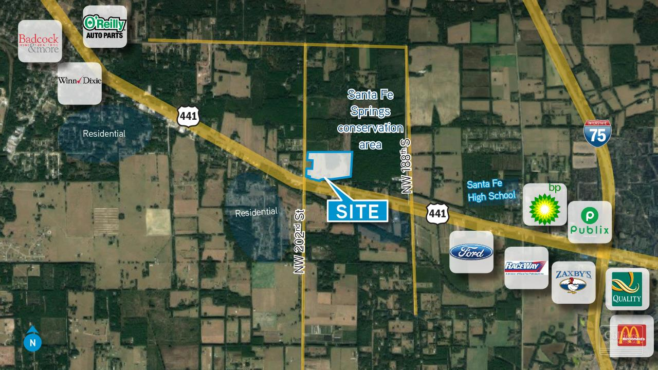 Land For sale — US 441 & NW 202nd St. High Springs , FL ...