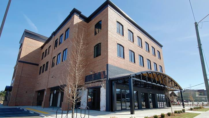Redeveloped Restaurant/Retail Space for Lease in Downtown Greenville
