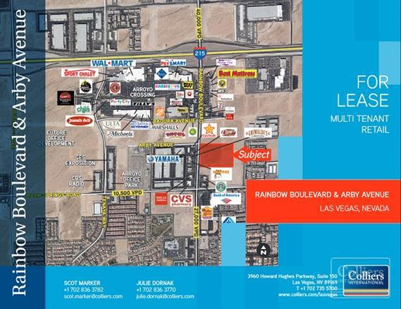 colliers international properties neighborhood center space for