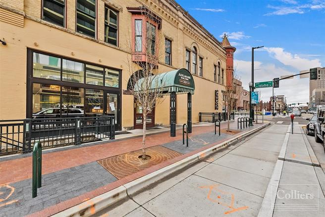 Adelmann Building | Retail Space Available | Boise, ID