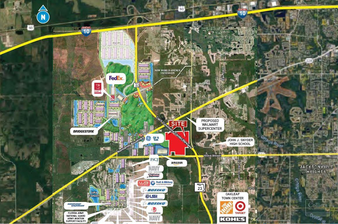 Land For sale — 0 Branan Field Jacksonville, FL 32221