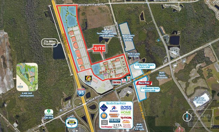 Retail For Sale and Lease — LPGA Blvd & Interstate 95