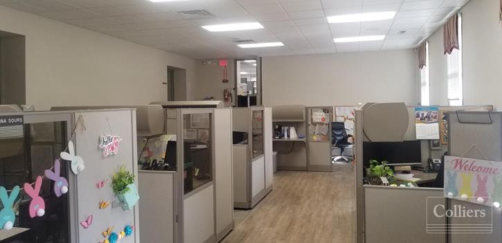 Move-in Ready Office & Parking Lot